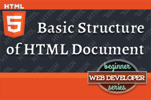 thumbnail for article on Basic Structure of an HTML Document
